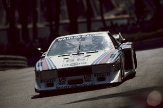 Riccardo Patrese, Hans Heyer, Piercarlo Ghinzani, Martini Racing, Lancia Beta Montecarlo Turbo