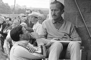 Jim Clark, Team Lotus, Colin Champman, propriétaire de l'écurie