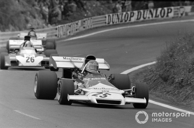 Helmut Marko, BRM P160B, Mike Hailwood, Surtees TS9B Ford