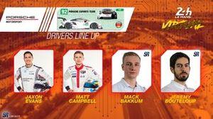 Line-up #92 Porsche Esports Team