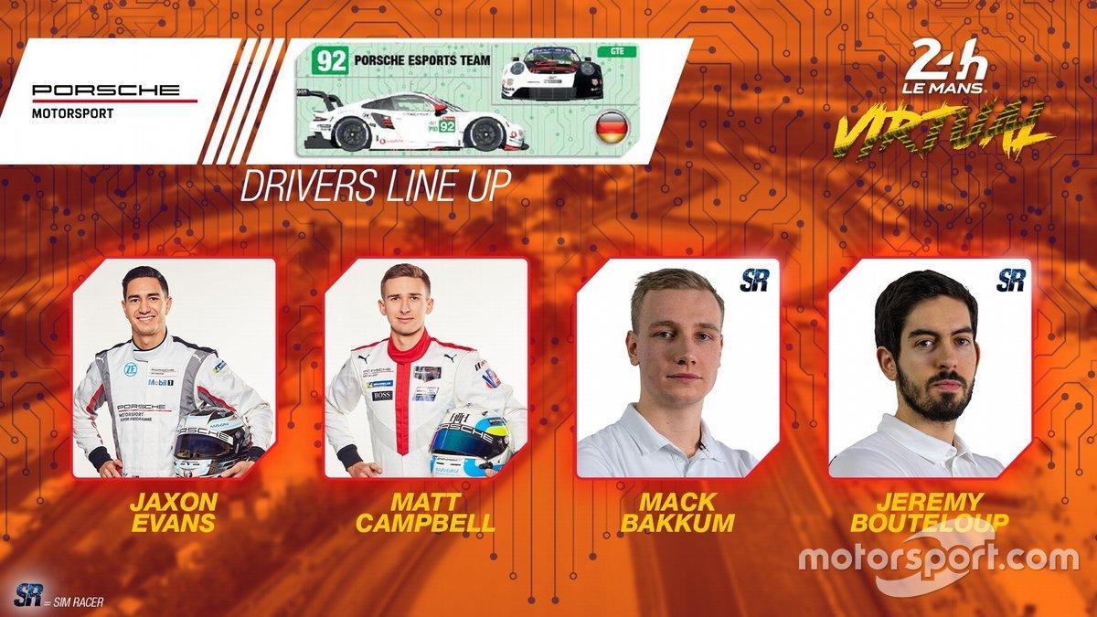 #92 Porsche Esports Team - Porsche 911 RSR