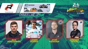 Line-up #20 Team Redline