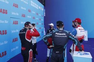 Oliver Rowland, Nissan e.Dams, Neel Jani, Porsche, Tom Blomqvist (GBR), Panasonic Jaguar Racing, Alex Lynn, Mahindra Racing