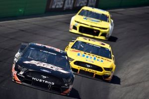 Corey LaJoie, Go FAS Racing, Ford Mustang Keen Parts, Michael McDowell, Front Row Motorsports, Ford Mustang Love's Travel Stops