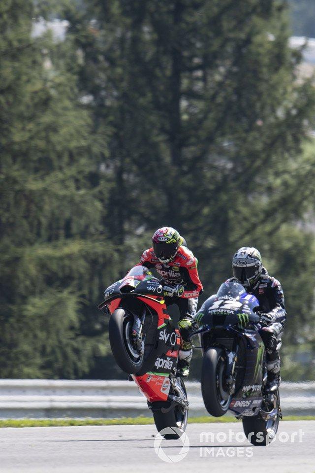 Aleix Espargaró, Aprilia Racing Team Gresini, Maverick Vinales, Yamaha Factory Racing