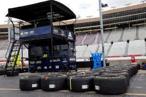 A general view of the pitbox used by William Byron, Hendrick Motorsports Chevrolet