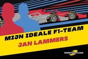 Mijn ideale F1-team: Jan Lammers