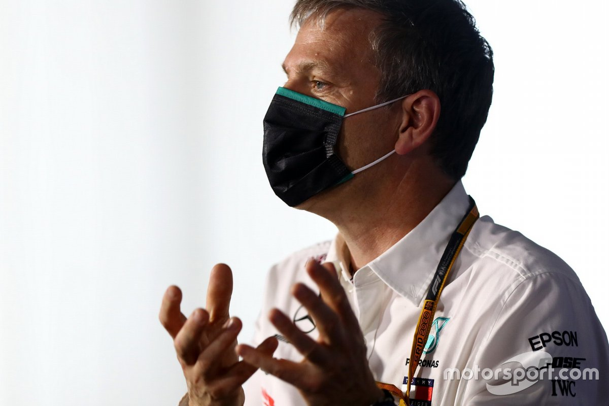 James Allison, Technical Director, Mercedes AMG, in the Team Principals Press Conference