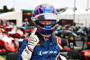 Pole sitter Alexander Smolyar, ART Grand Prix
