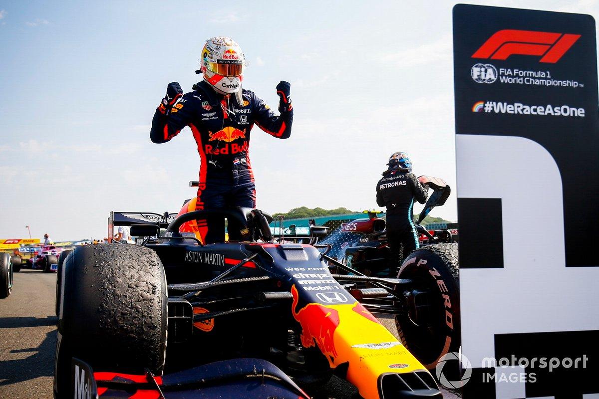 Max Verstappen - Red Bull Racing R16-Honda - GP 70 Aniversario F1 2020