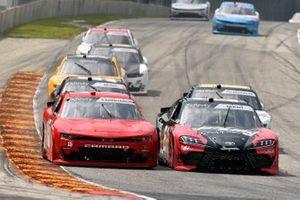 Jeffrey Earnhardt, JD Motorsports, Chevrolet Camaro TeamJDMotorsports.com and Stephen Leicht, Hattori Racing Enterprises, Toyota Camry JANIKING