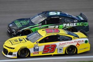 \c52\, Joey Gase, Petty Ware Racing, Page Construction Ford Mustang