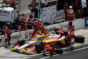 Spencer Pigot, Citrone Buhl Autosport with RLL Honda pit stop