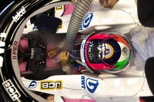 Sergio Perez, Racing Point, dans sa monoplace