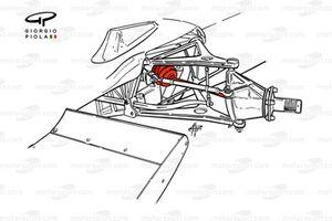 Lotus 72 eje de transmisión
