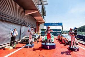 Podyum: Yarış galibi Nico Müller, Audi Sport Team Abt Sportsline, 2. Jamie Green, Audi Sport Team Rosberg, 3. Loic Duval, Audi Sport Team Phoenix