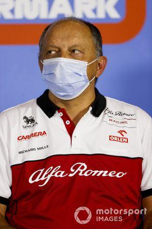 Руководитель команды Alfa Romeo Racing Фредерик Вассёр