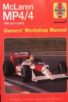 Libro McLaren MP4/4