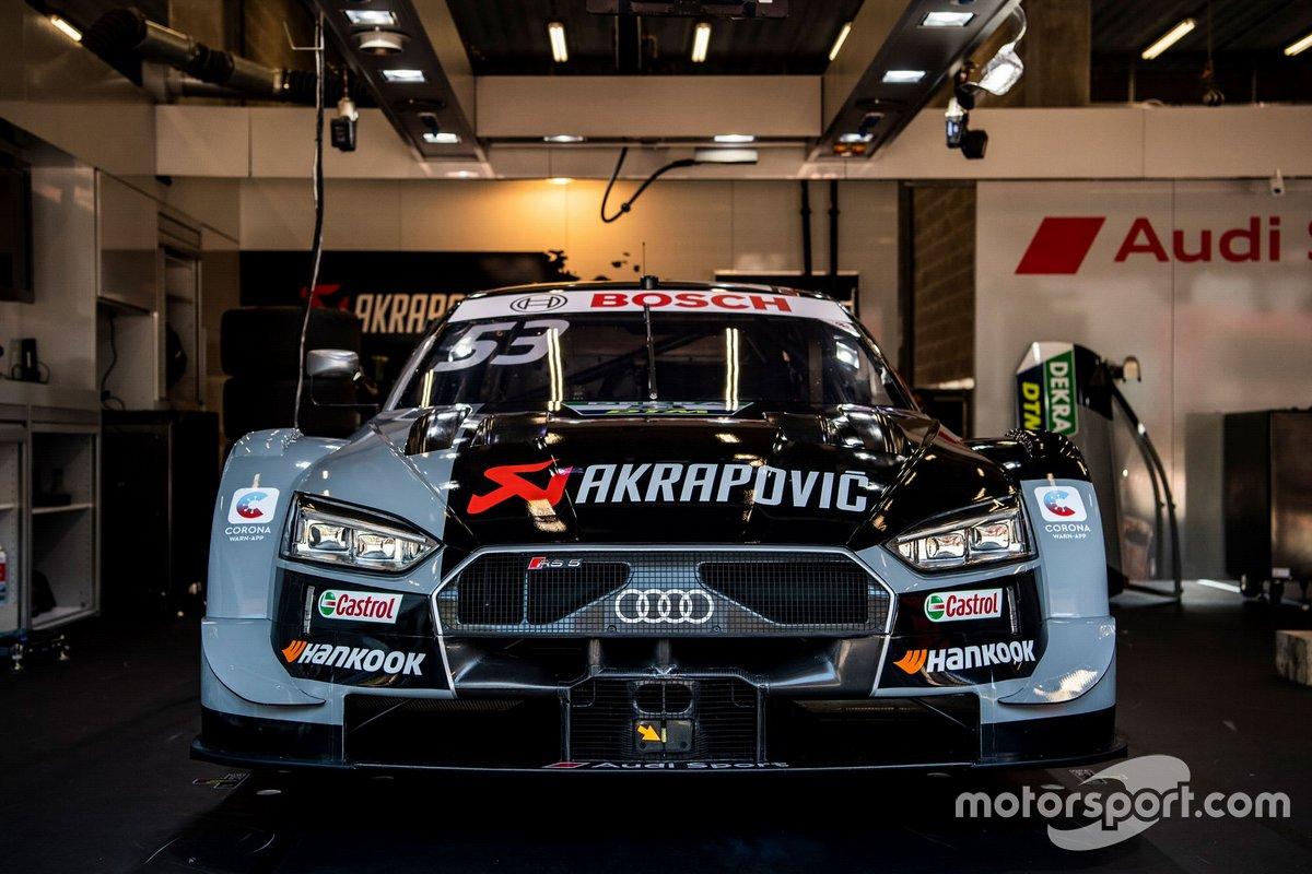 L'auto di Jamie Green, Audi Sport Team Rosberg