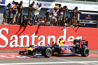 Ganador Sebastian Vettel, Red Bull Racing RB7