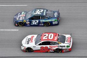 Erik Jones, Joe Gibbs Racing, Toyota Camry Sport Clips, Corey LaJoie, Go FAS Racing, Ford Mustang WallStBookie.com