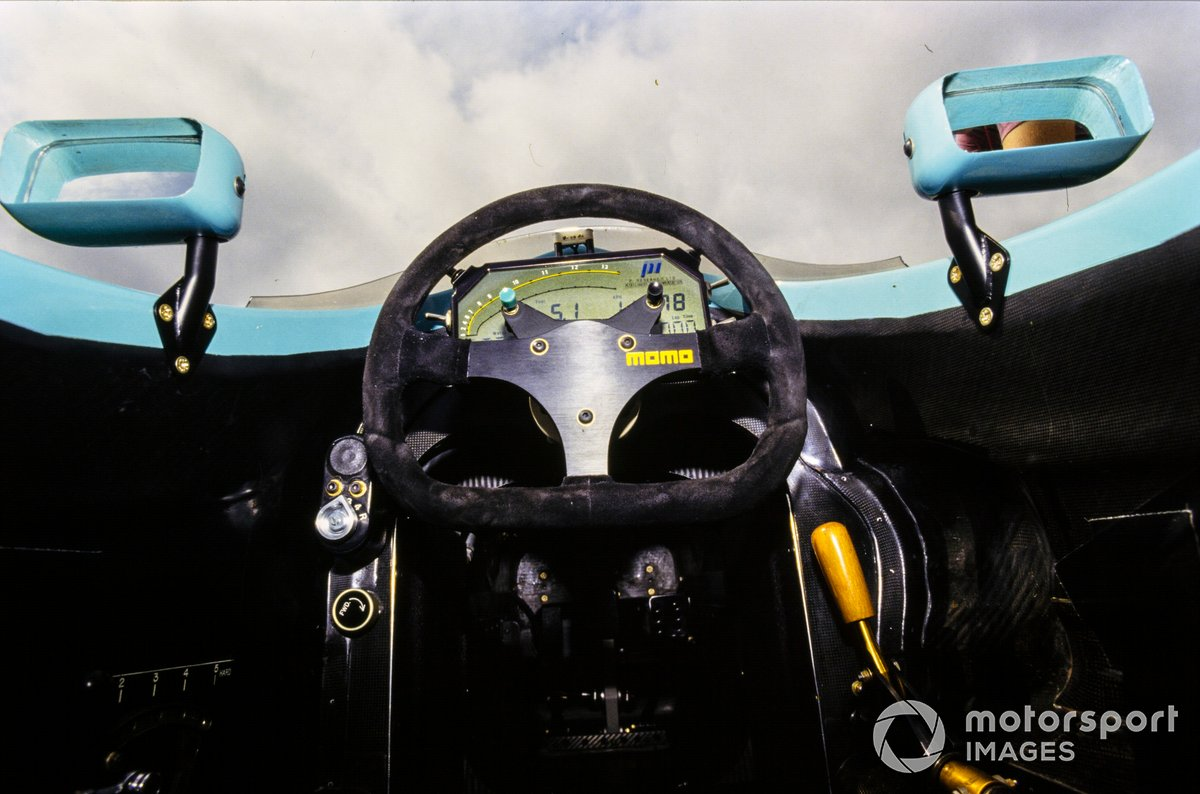 Руль Leyton House CG911 на Гран При Франции 1991 года