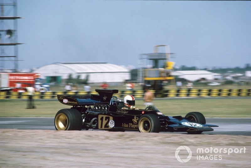 Dave Walker, Lotus 72D Ford, GP d'Argentina del 1972