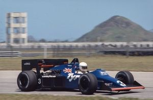 Martin Brundle, Tyrrell 012 Ford