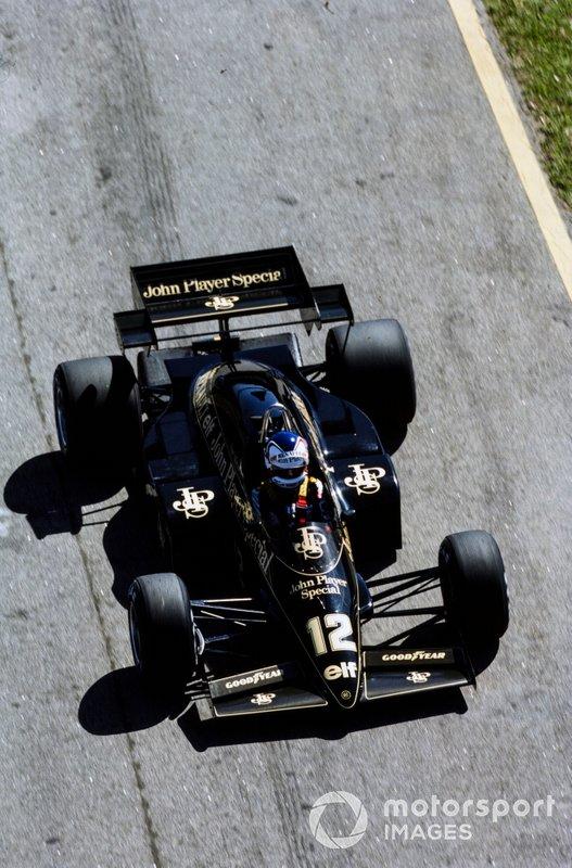 Nigel Mansell, Lotus 95T Renault