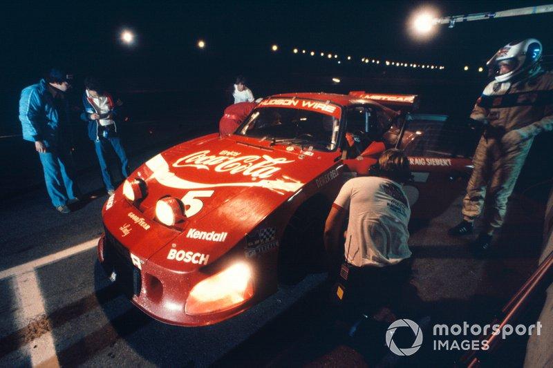 Daytona 24 1982: Bob Akin, Derek Bell, Craig Siebert, Porsche 935 Turbo