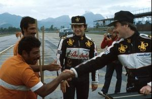 Elio de Angelis, Lotus, Nigel Mansell, Lotus
