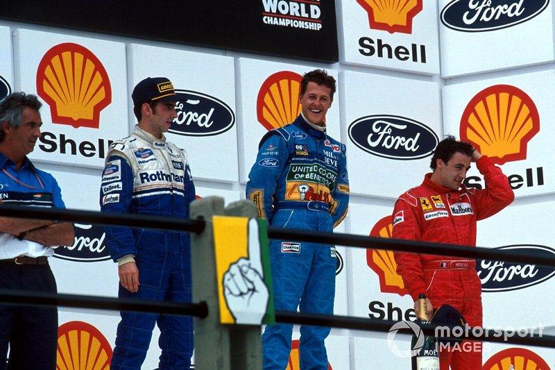 21. Damon Hill-Michael Schumacher-Jean Alesi, Ferrari: 5