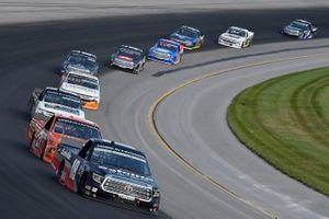 Christian Eckes, Kyle Busch Motorsports, Toyota Tundra Safelite AutoGlass, Zane Smith, GMS Racing, Chevrolet Silverado LaPaz Margarita Mix