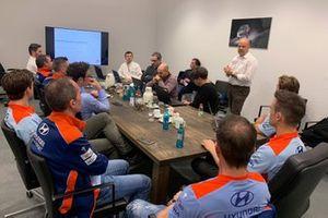 Reunión de pilotos Hyundai Motorsport