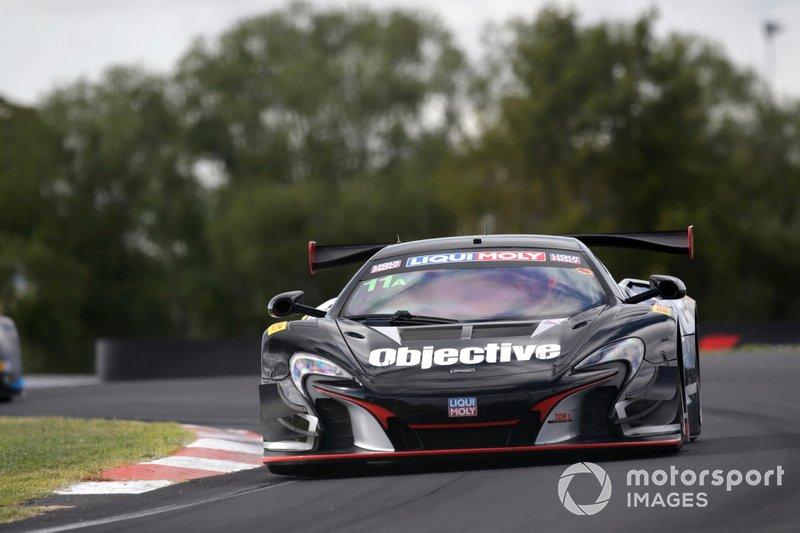 23. #11 Objective Racing McLaren 650S: Tony Walls, Warren Luff, Andrew Watson