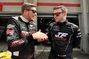 Garrett Smithley, JD Motorsports, Chevrolet Camaro teamjdmotorsports.com and Matt Mills, B.J. McLeod Motorsports, Chevrolet Camaro J.F. Electric