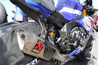 Alex Lowes, Pata Yamaha' Yamaha exhaust