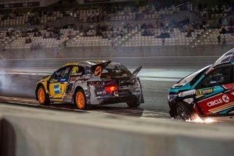 Crash: Anton Marklund, GC Competition, Reinis Nitiss, GRX Taneco