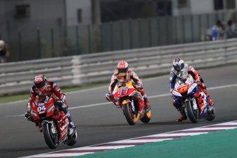 Andrea Dovizioso, Ducati Team, Marc Marquez, Repsol Honda Team, Jack Miller, Pramac Racing