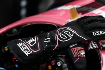 Jack Harvey, Meyer Shank Racing with Arrow SPM Honda, gloves