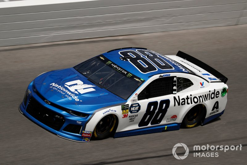 2. Alex Bowman, Hendrick Motorsports, Chevrolet Camaro Nationwide