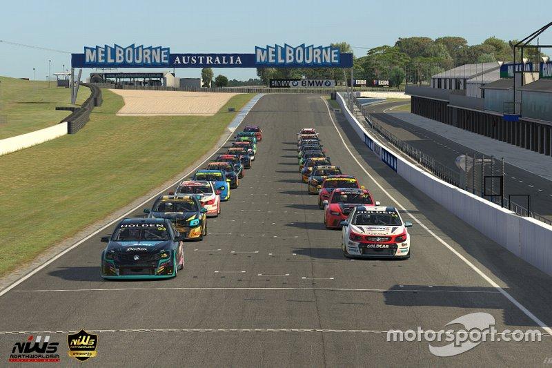 Australian V8 de Drivers Parade Club