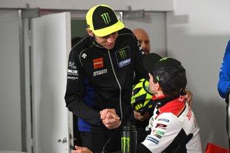 Валентино Росси, Yamaha Factory Racing, Кэл Кратчлоу, Team LCR Honda