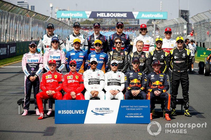Clase 2019 Fórmula 1