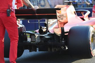 La voiture de Sebastian Vettel, Ferrari SF90