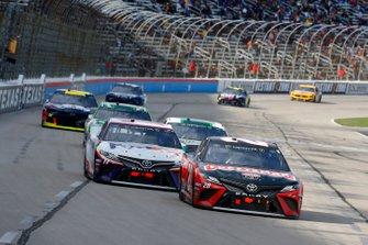 Erik Jones, Joe Gibbs Racing, Toyota Camry Craftsman, Denny Hamlin, Joe Gibbs Racing, Toyota Camry FedEx Office