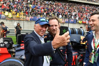 Michel de Carvalho with Christian Horner, Team Principal, Red Bull Racing