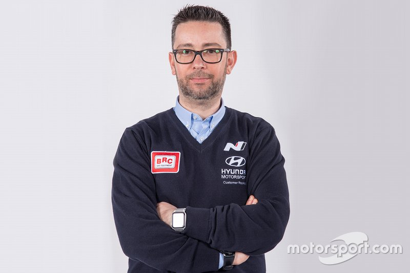 Gabriele Palmitesta, Team Manager, Hyundai BRC Team
