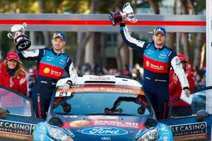 I vincitori WRC2 Pro, Gus Greensmith, Elliot Edmondson, M-Sport Ford WRT, Ford Fiesta R5
