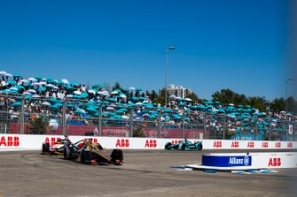Andre Lotterer, DS TECHEETAH, DS E-Tense FE19 Lucas di Grassi, Audi Sport ABT Schaeffler, Audi e-tron FE05, Nelson Piquet Jr., Jaguar Racing, Jaguar I-Type 3
